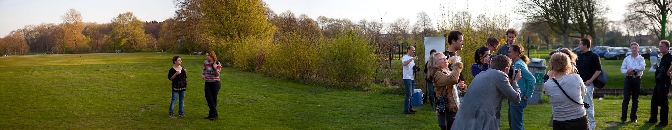 Panorama at Westbroekpark