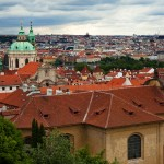 View over Prague from Mala Strana
