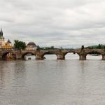 Panorama of Charles Bridge