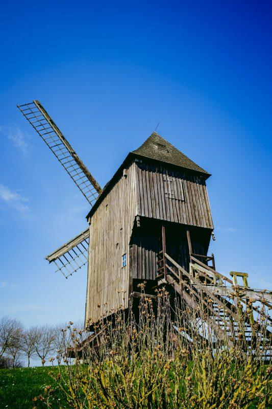 Moulin à vent close to St Maxent