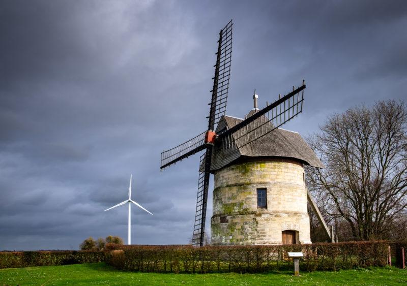 Moulin a vent Eaucourt, Somme